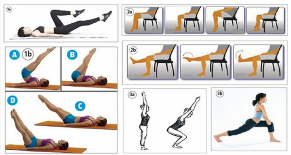 6 bài tập thể dục tốt cho người suy giãn tĩnh mạch