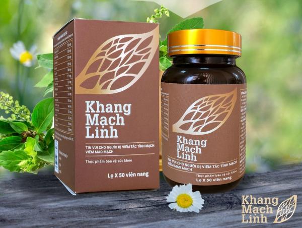 Thành phần, công dụng chính của Khang Mạch Linh